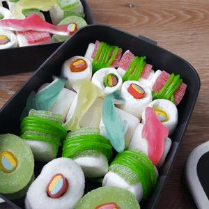 Süßes Sushi aus Haribo