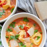 Tomaten Tortelloni Suppe