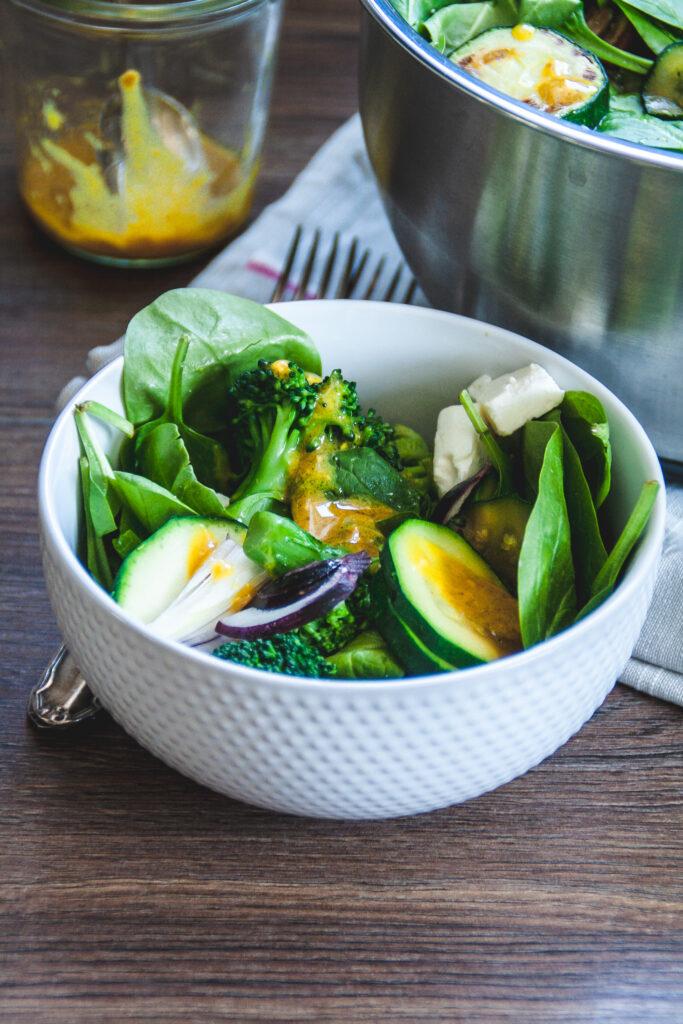 Warmer Brokkolisalat